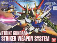 SD Strike Gundam Striker Weapon System boxart