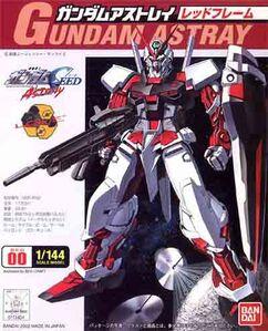 1 144 Gundam Astray Red Frame boxart