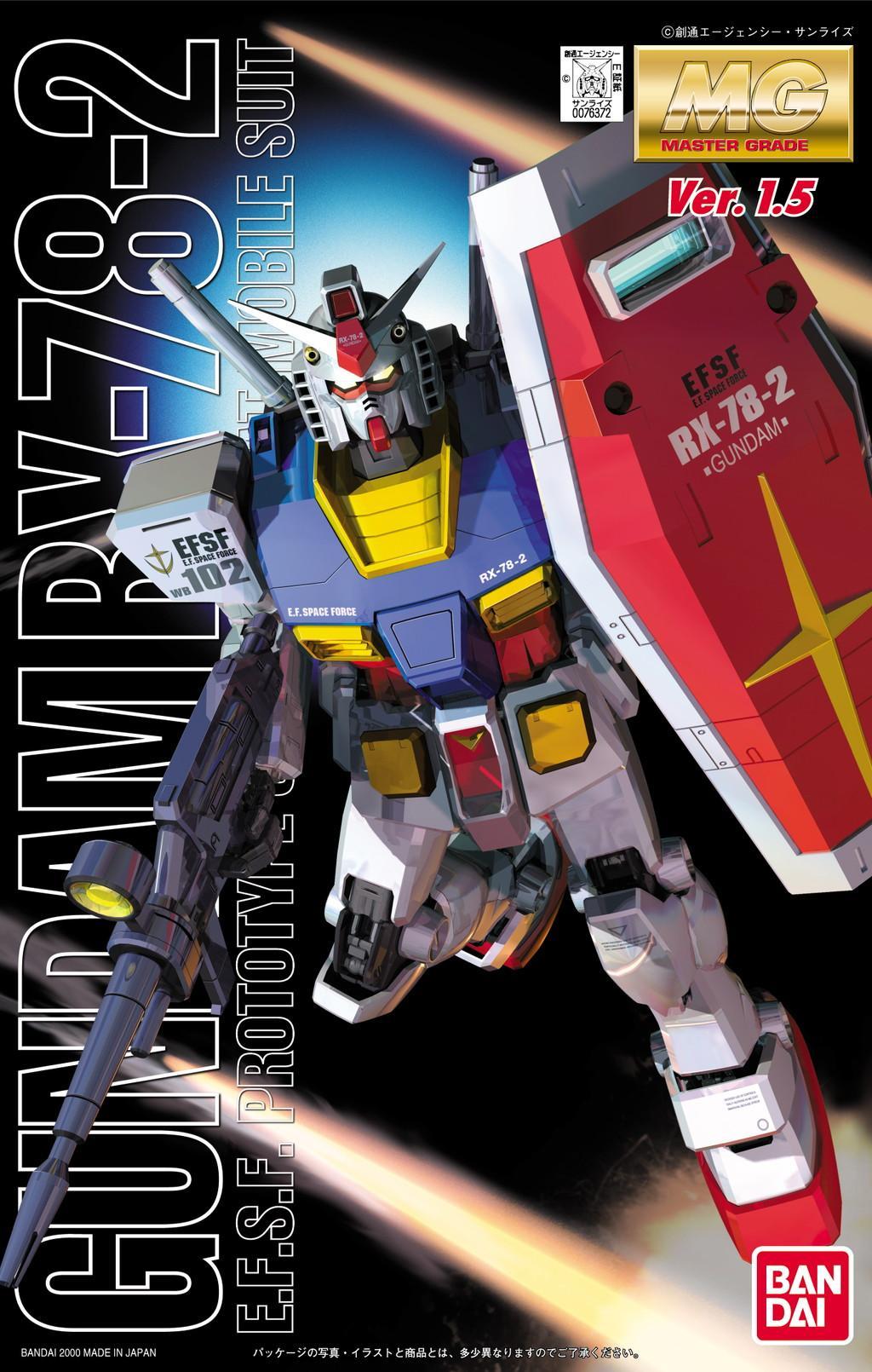 Mg Rx 78 2 Gundam Ver 1 5 Gunpla Wiki Fandom
