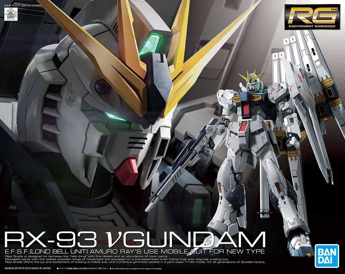 1 144 Rx 93 N Gundam Mobile Suit Gundam Char S Counterattack