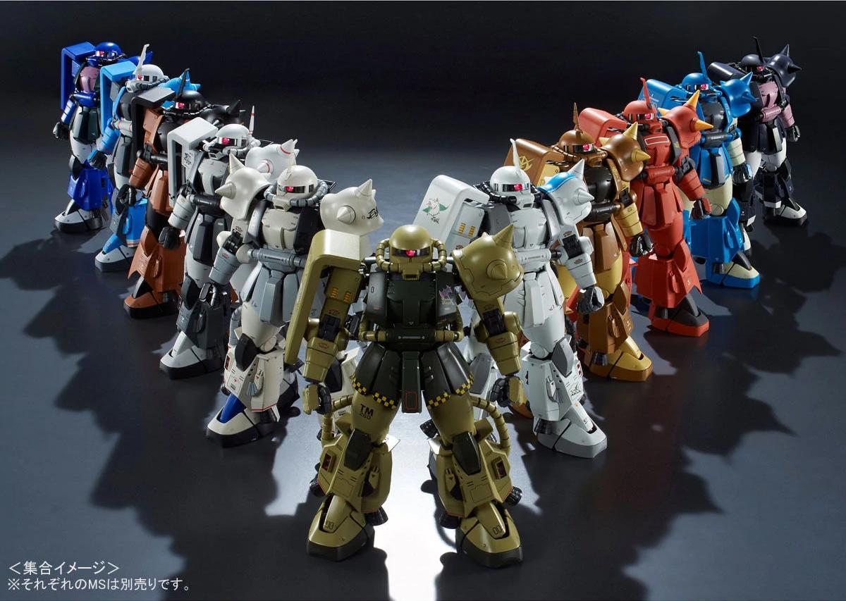Ms-06F Zaku Ii Ver 2.0 Gunpla Mg Master Grade Gundam 1//100 BANDAI