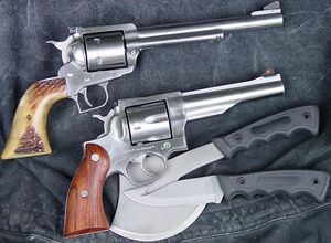 Ruger Redhawk and Blackhawk