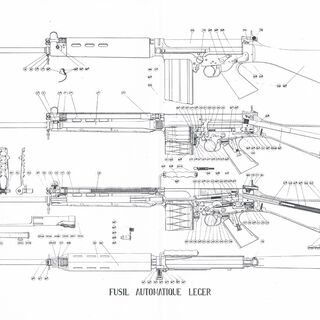 FN FAL schematic.