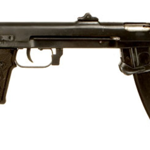 A deactivated PPS43 manufactured in 1945