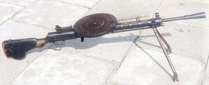 Machine gun DP MON