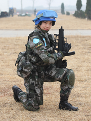 Peacekeeper with QCQ-05