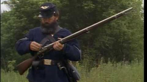 Springfield 1861 rifle drill