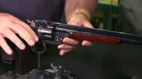 Smith & Wesson Model 3 Revolver and 320 Revolving Rifle