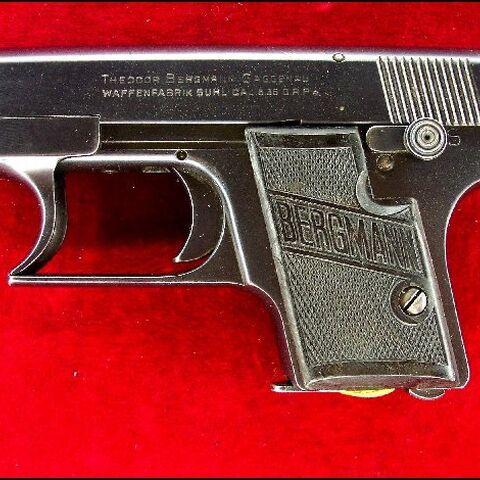 A Lignose Einhand 2A with Bergmann grips.