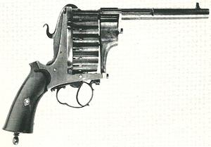 Chaineux revolver