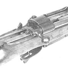 The Cei-Rigotti's operating rod.