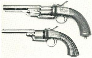 Lang percussion revolvers