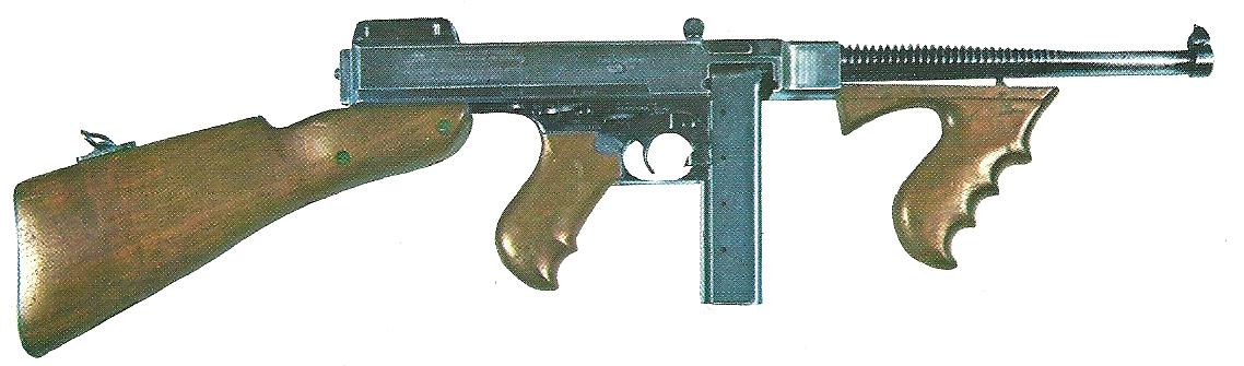 Thompson submachine gun   Gun Wiki   FANDOM powered by Wikia