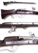 Matchlock rifles