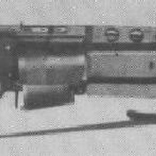 First-generation SPIW prototype w/ 3-shot grenade launcher