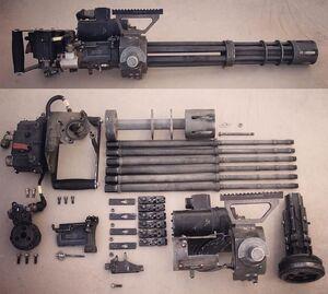 M134MinigunFieldStripped