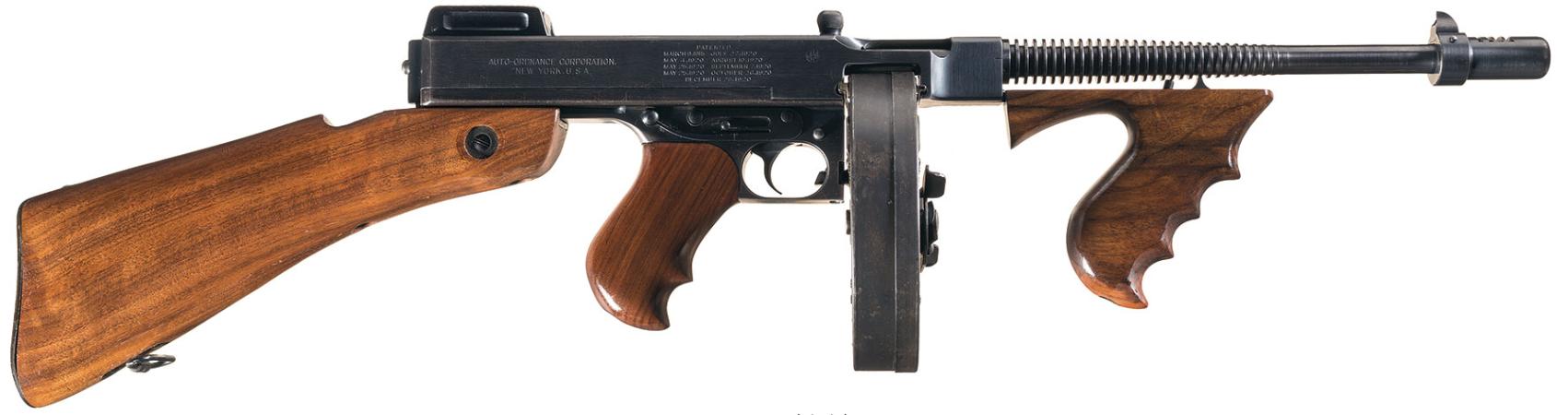 Thompson submachine gun | Gun Wiki | FANDOM powered by Wikia