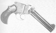 Bland pistol open