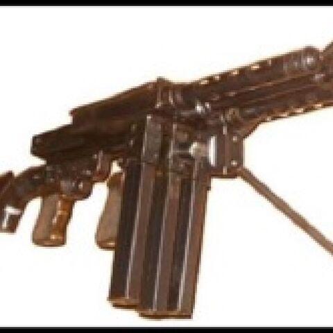 Spasov M1944 Trigun front view.