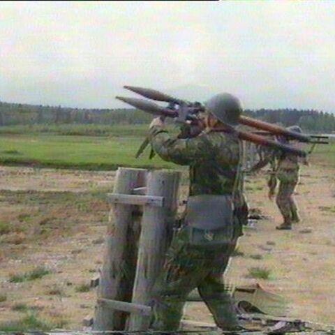An AGI 3×40 firing.