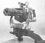 M134 Minigun front