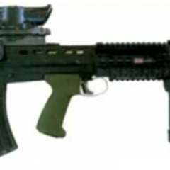 Upgraded L85A2, courtesy of <a href=