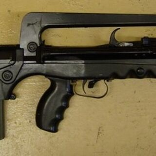 FAMAS F1, with proprietary magazine