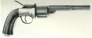 Baker percussion revolver