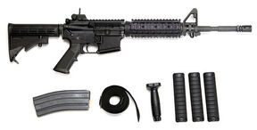 M4 Carbine with Standard Accessories