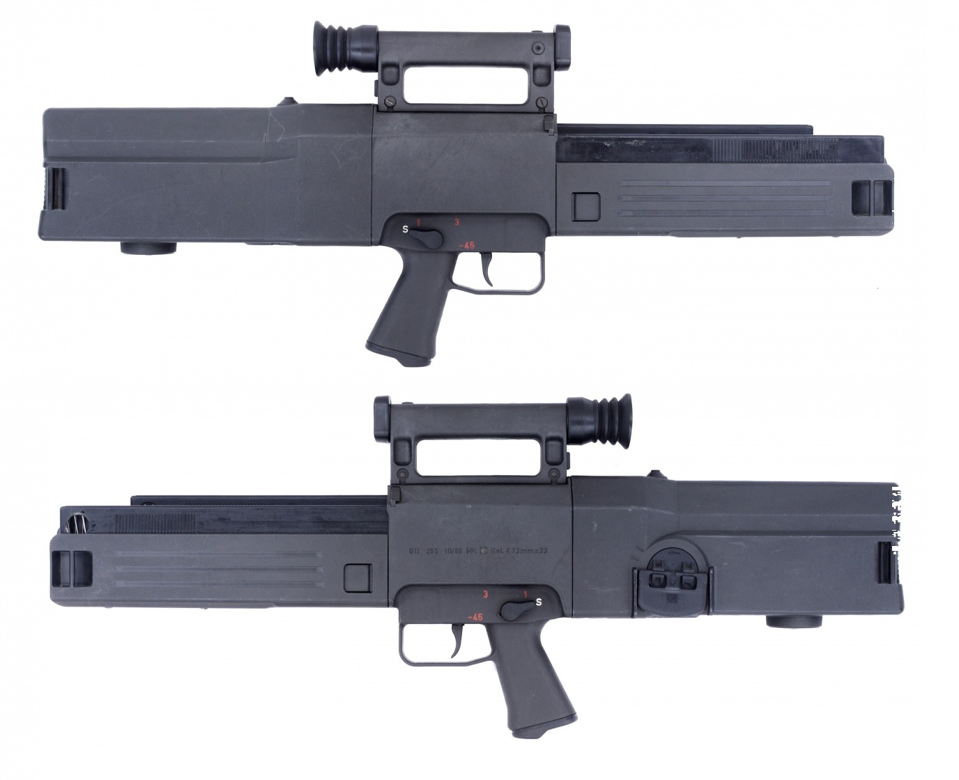heckler koch g11 gun wiki fandom powered by wikia rh guns wikia com Moe K2 Grip AR-15 M4 Gry Daewoo K1 Rifle