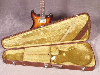 Ibanez Studio ST-300 with open Vault Case