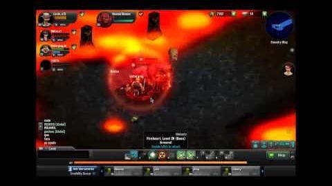 Gunshine Boss lv 20 FireHeart