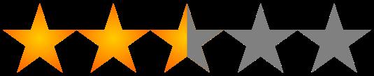 Resultado de imagen de 2.5 estrellas