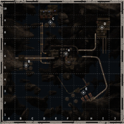 Refinery map