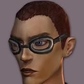 MaleRubber Goggles