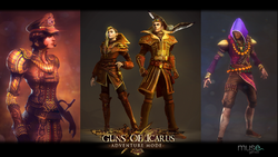Guns of Icarus Classes artwork