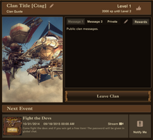 Clan Page