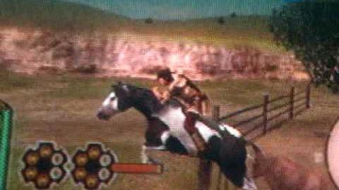 Galloping horse - GUN PS2
