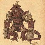 Monster illust44