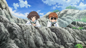 Miho Yukari scouting