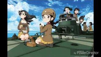 Girls und Panzer ost Chi-Ha-Tan no loversan(ガルパン最終章2話BGM知波単のラバさん)