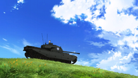Alice Shimada in the cupola of her Centurion Mk.I (A41)