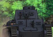 Panzer 38t advances