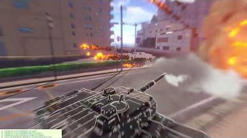 Girls und Panzer Dream tank match PS4 , Type-10 MBT Gameplay (2)