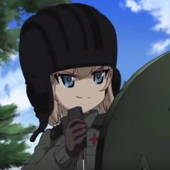 Katyusha en el Girls und Panzer: der film