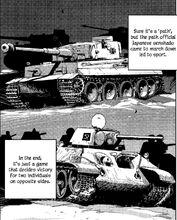 Tiger and T-34 Ribbon Warrior
