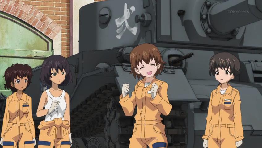 Leopon Team   Girls und Panzer Wiki   Fandom