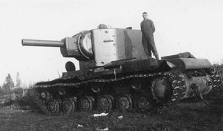 KV2 heavy tank 1941 eastern front 4