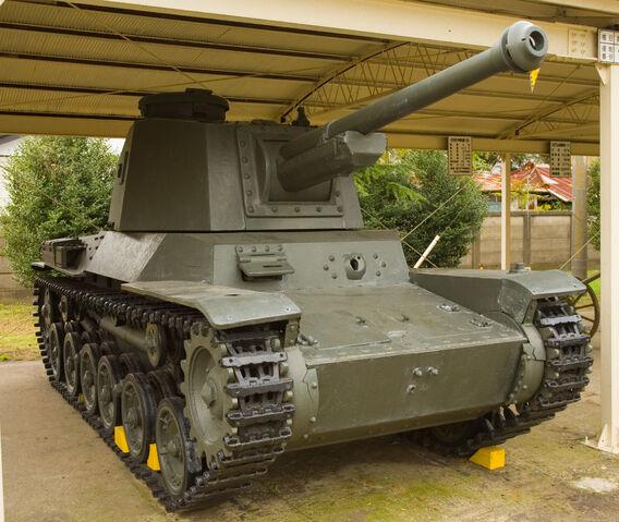 File:Japanese Type 3 Chi-Nu tank 1.jpg