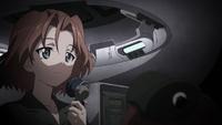 Azumi inside of her Pershing (2)